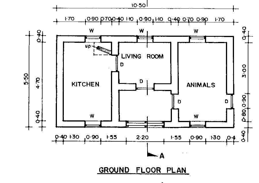 10 Foot By 25 Foot Floor Plan